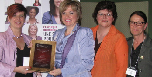 Louise Potvin, lauréate du prix Distinction 2013